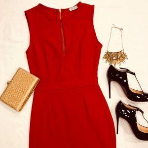 Tobi sassy red dress
